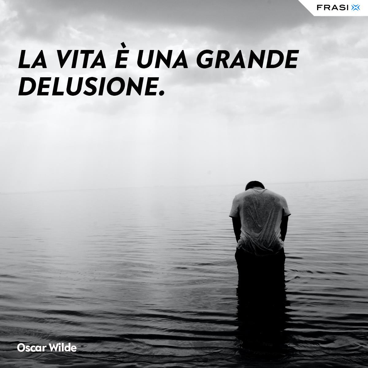Frasi depresse sulla vita Oscar Wilde