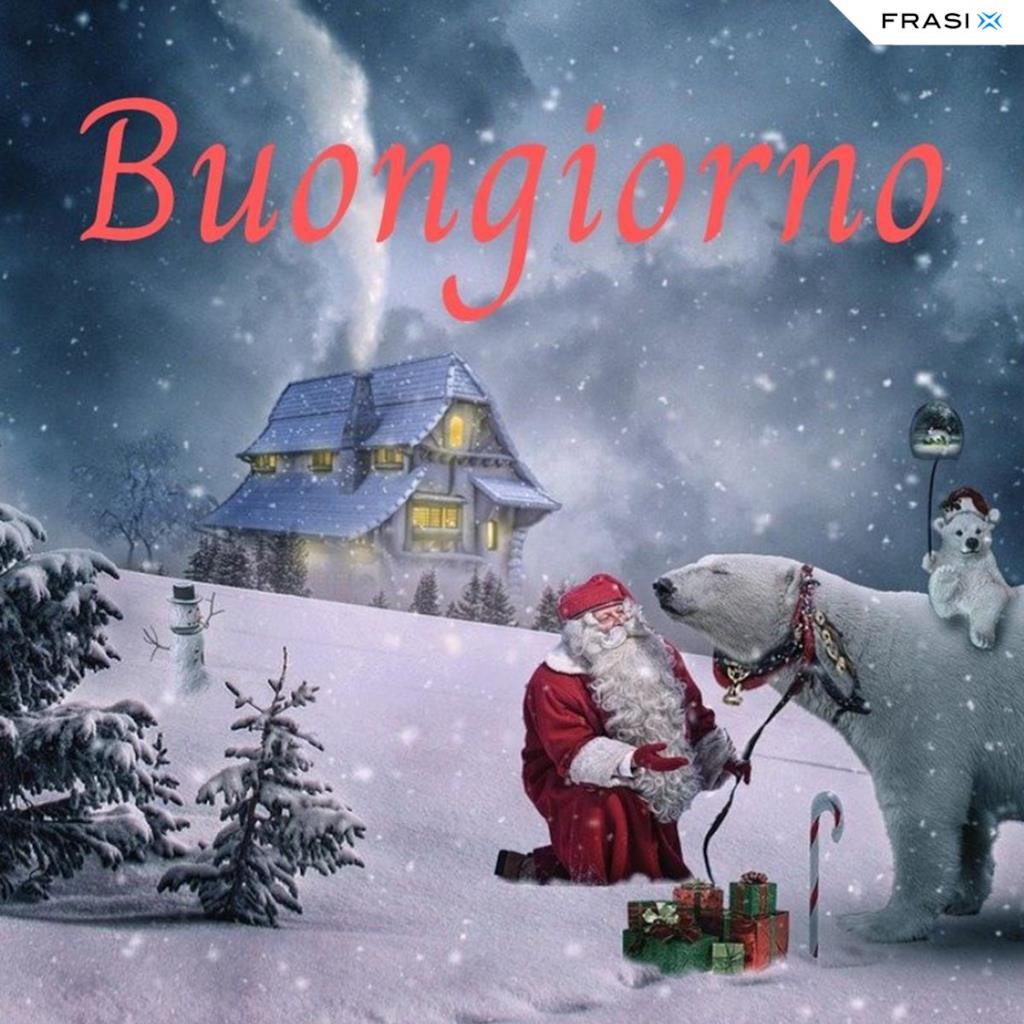 Buongiorno con Babbo Natale