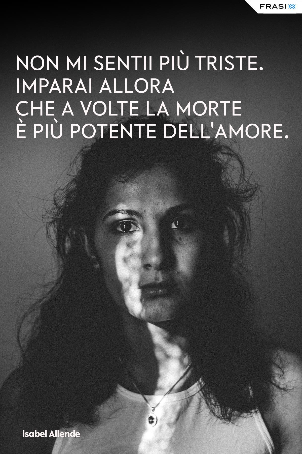 Frasi depresse morte Isabel Allende