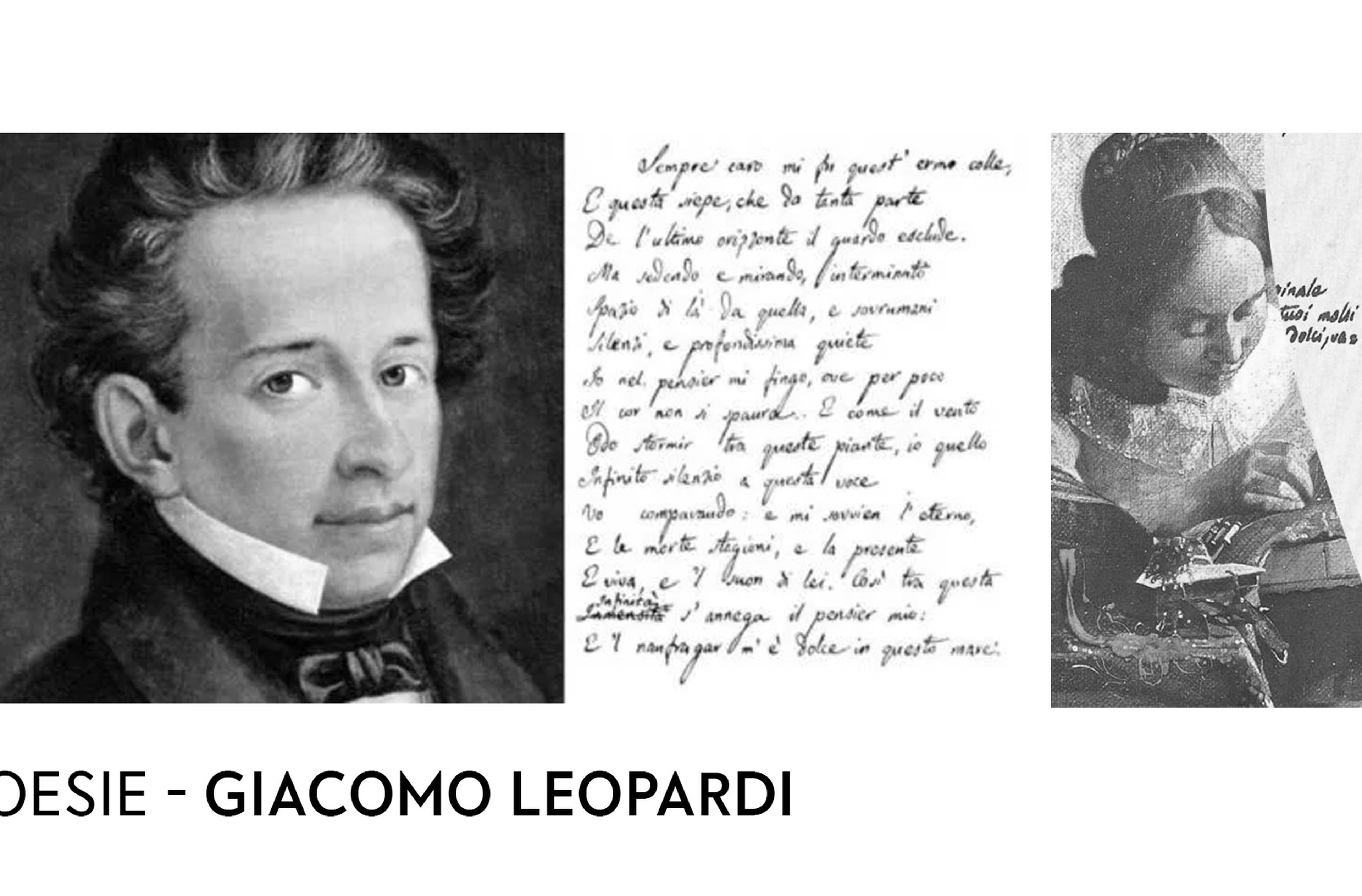 Copertina Leopardi poesie
