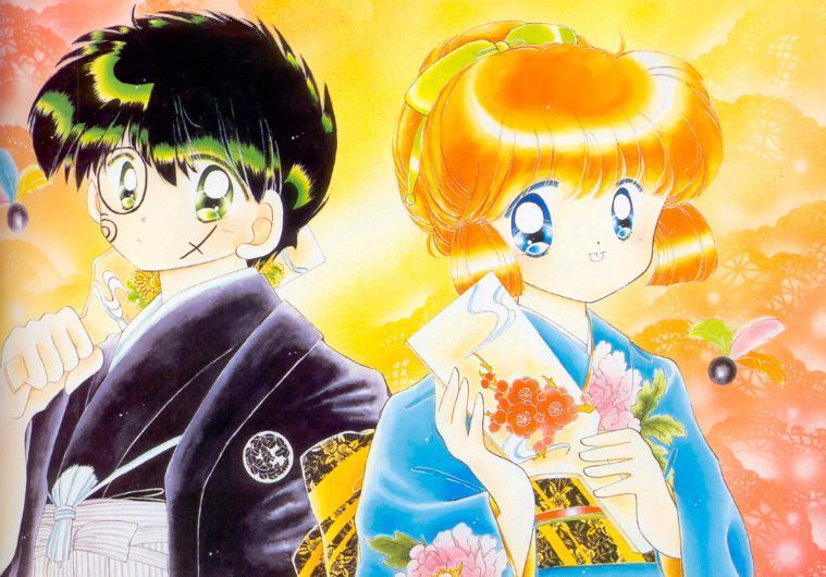 Kaitō Saint Tail: i protagonisti del manga