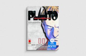 Cover di Pluto, manga di Naoki Urasawa