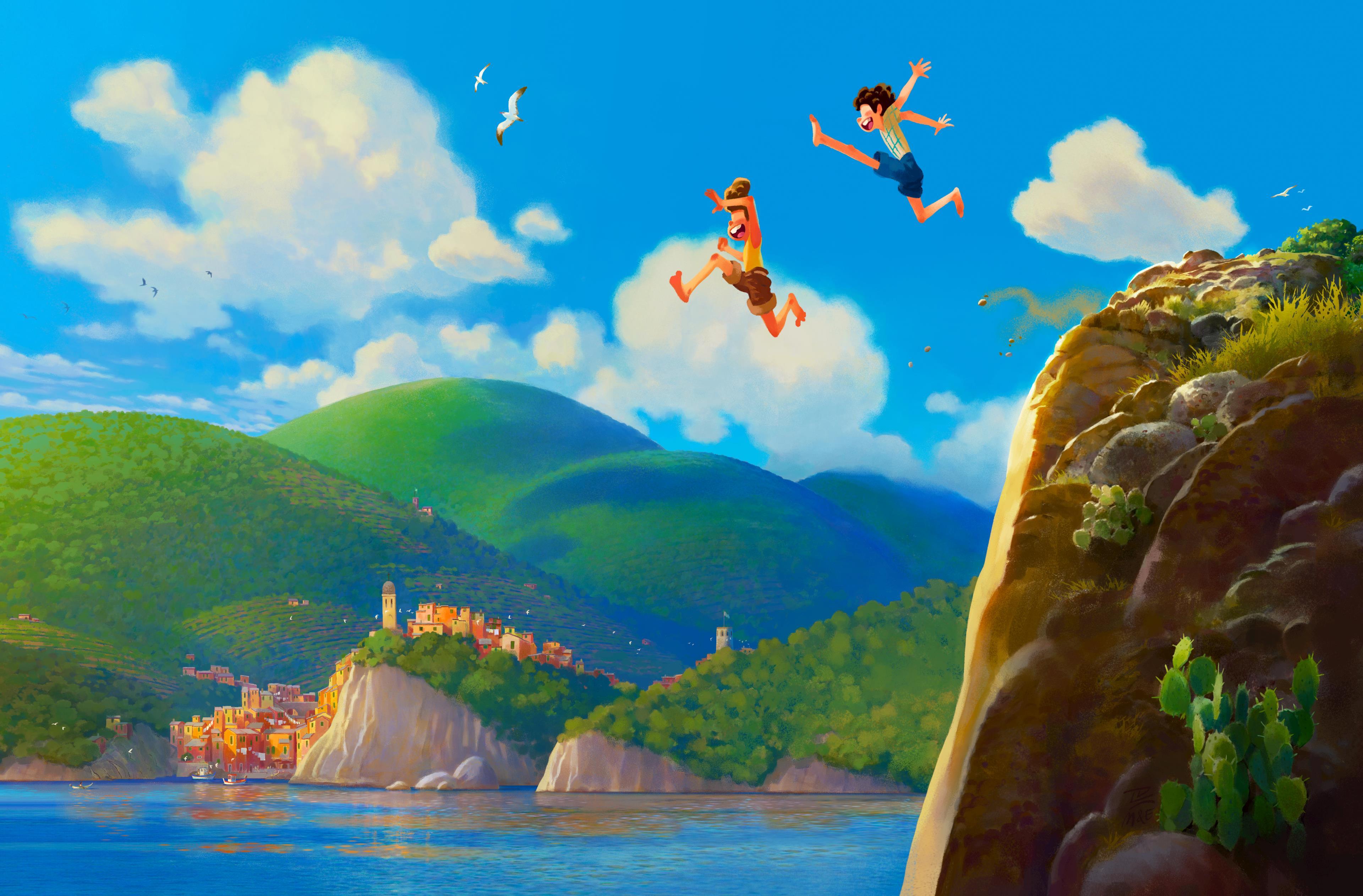 Luca film Pixar