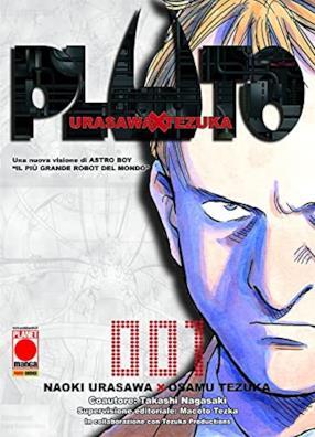 Pluto N° 1 - Ristampa - Planet Manga - Panini Comics - ITALIANO