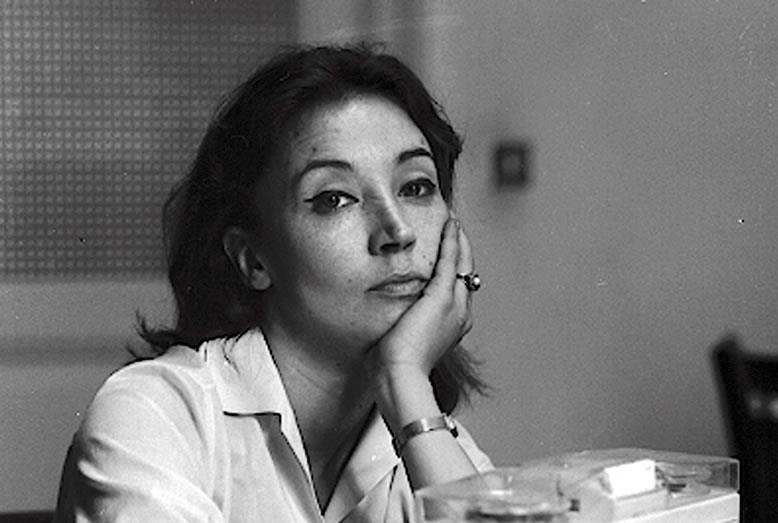 Un'immagine di Oriana Fallaci