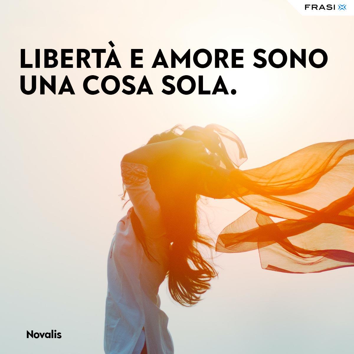 Frasi e aforismi d'amore Novalis