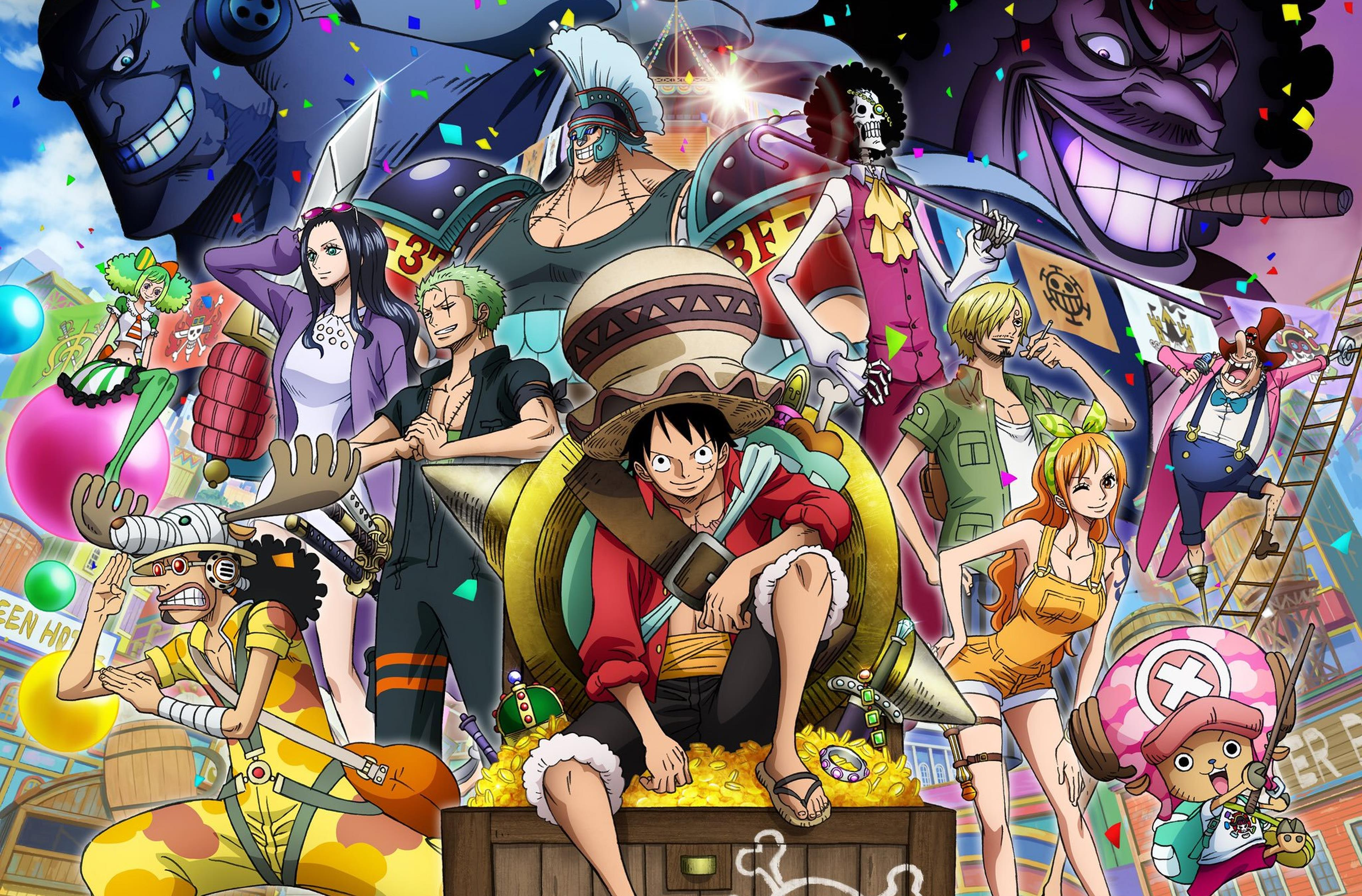 One Piece: Stampede poster finale