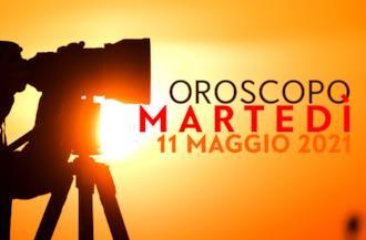 Copertina oroscopo Martedì 11 Maggio 2021