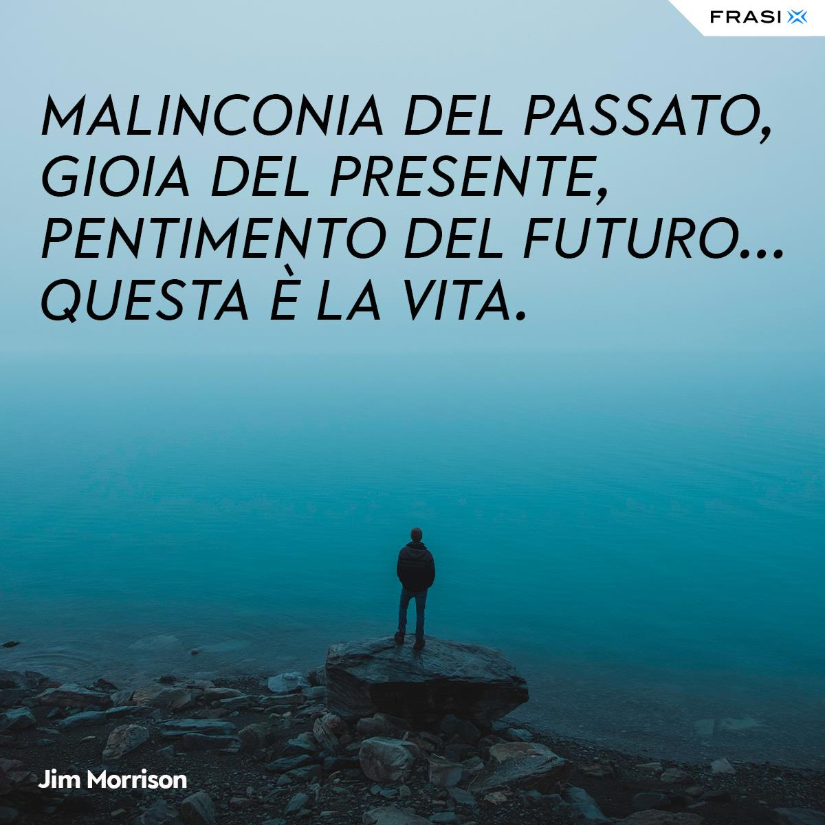 Frasi depresse vita Jim Morrison