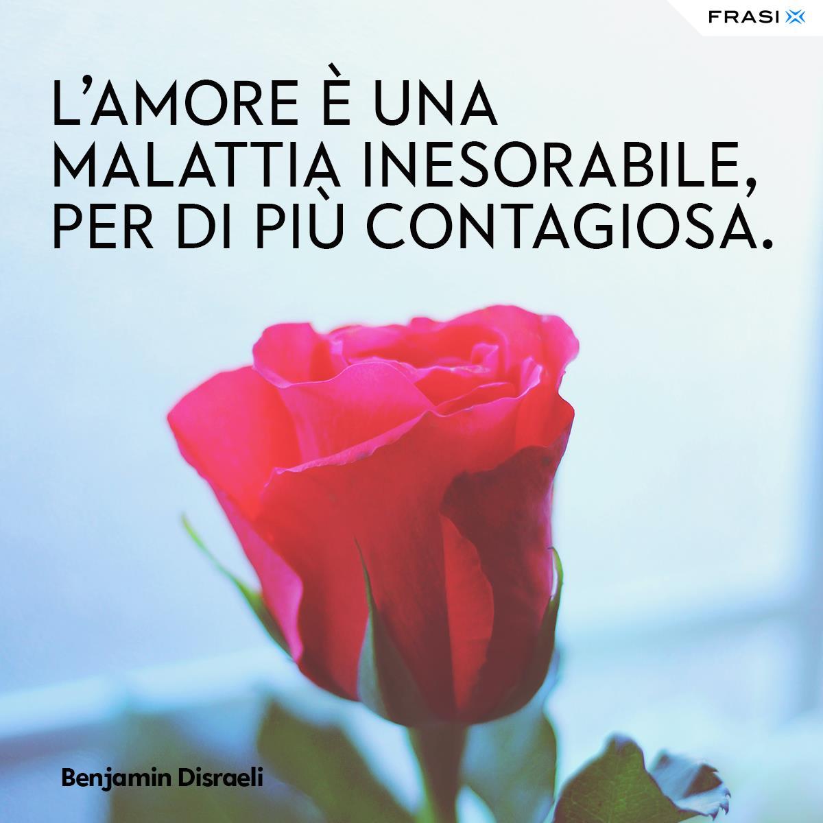 Frasi d'amore e aforismi Benjamin Disraeli