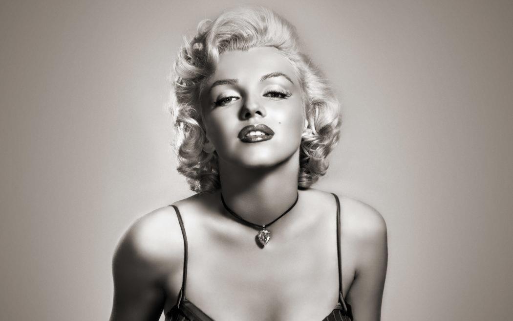 Un ritratto della diva Marilyn Monroe