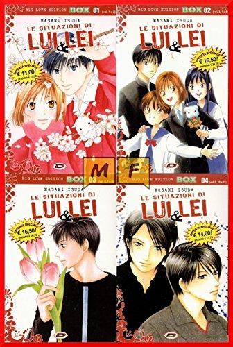 DYNIT LE SITUAZIONI DI LUI & LEI BIG LOVE EDITION COMPLETA 01 /11 NUOVA