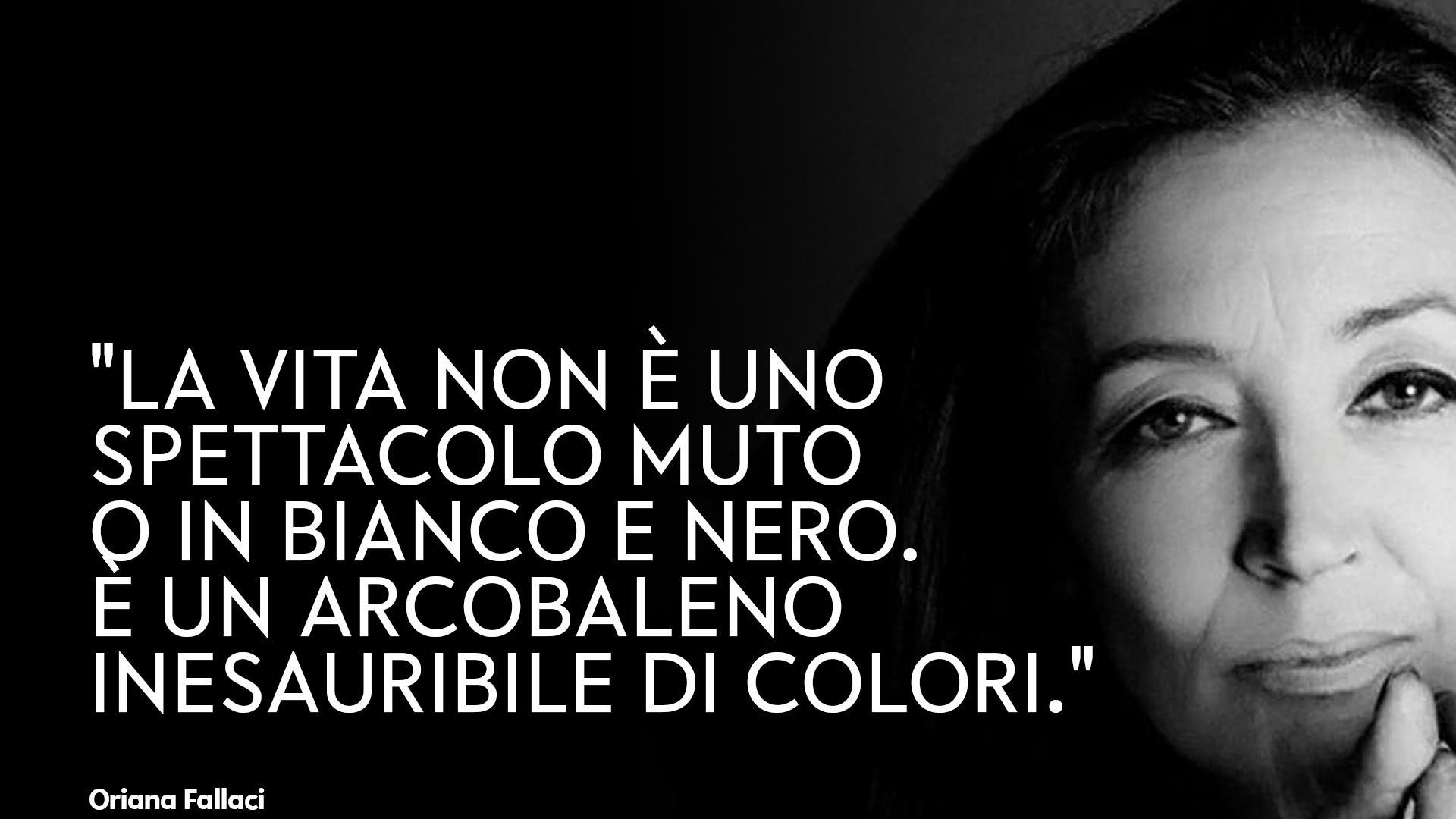 Le frasi di Oriana Fallaci più belle e significative da ricordare