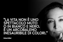 Copertina Oriana Fallaci frasi