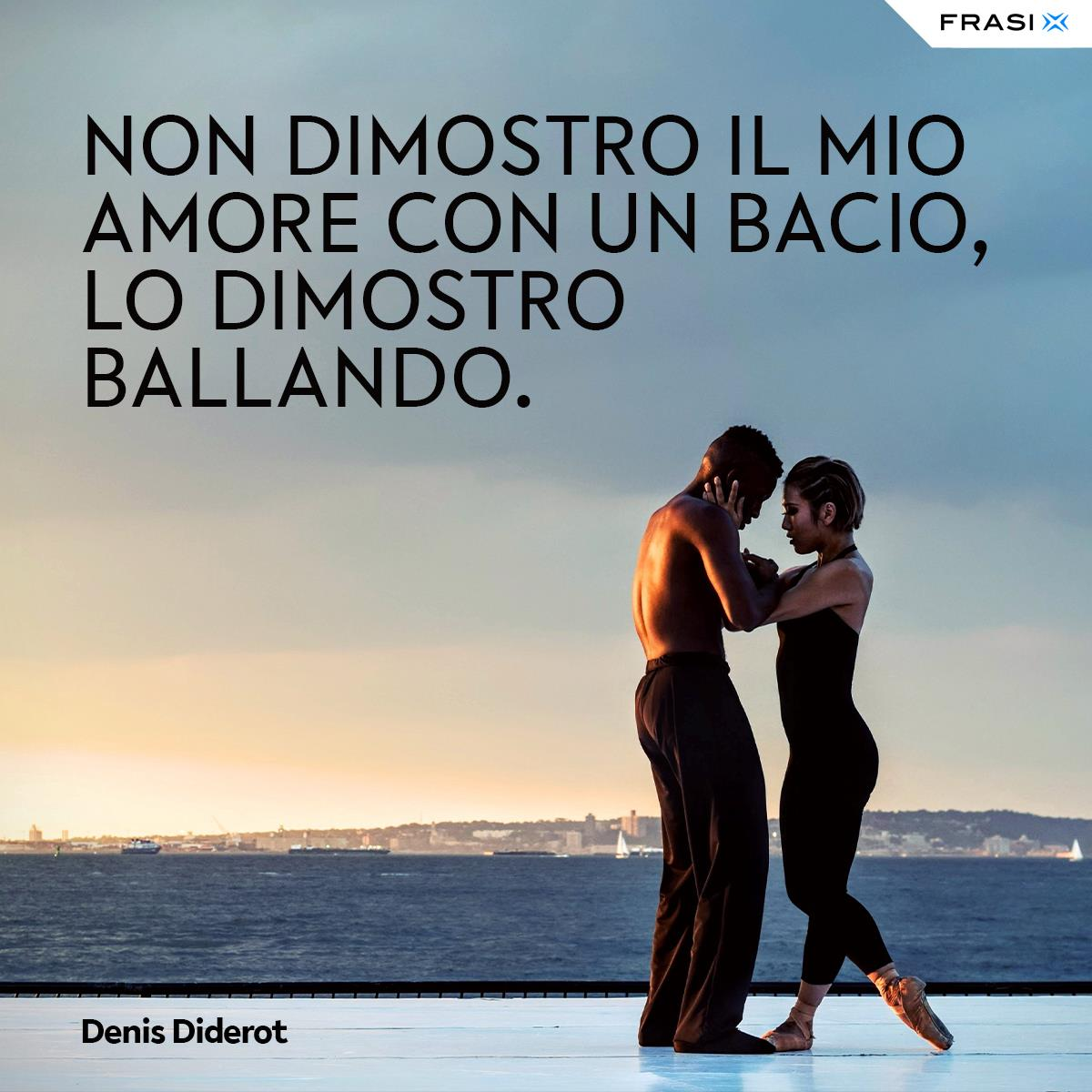 Frasi ballare e amore Diderot