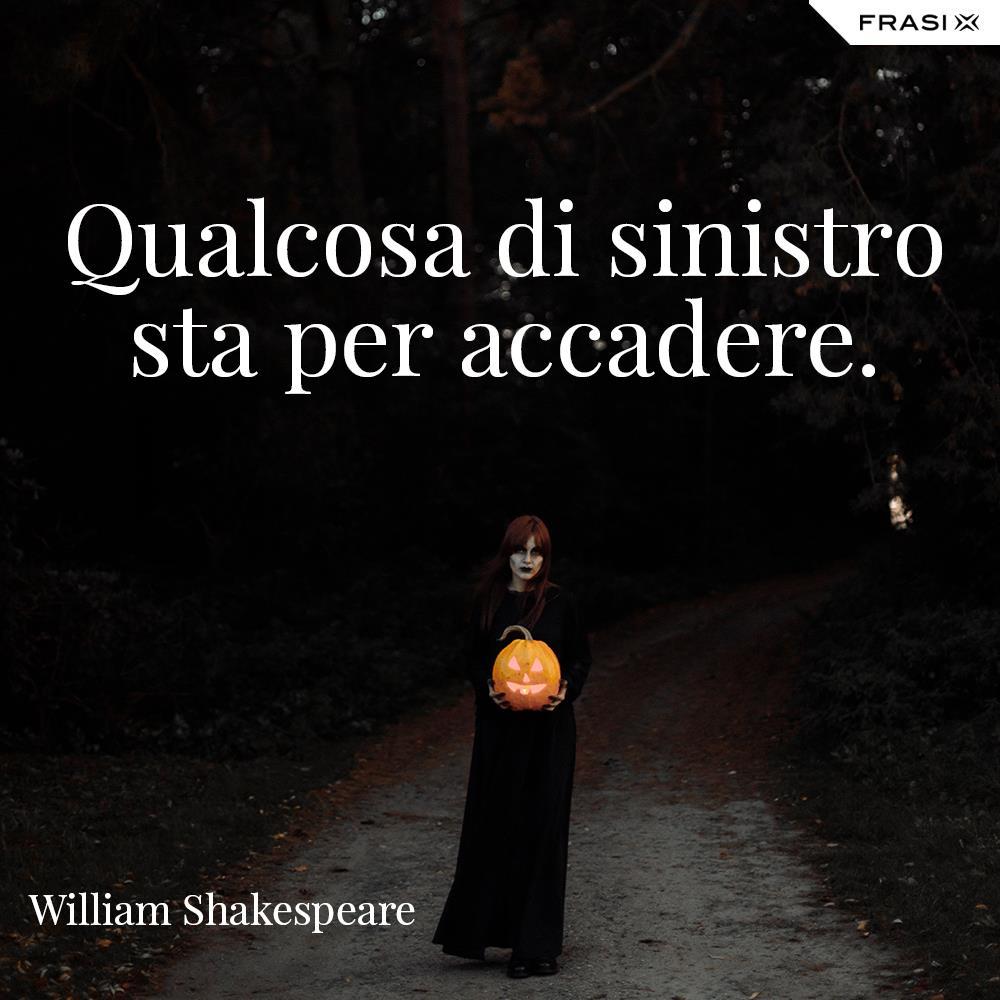 Buon Halloween Shakespeare