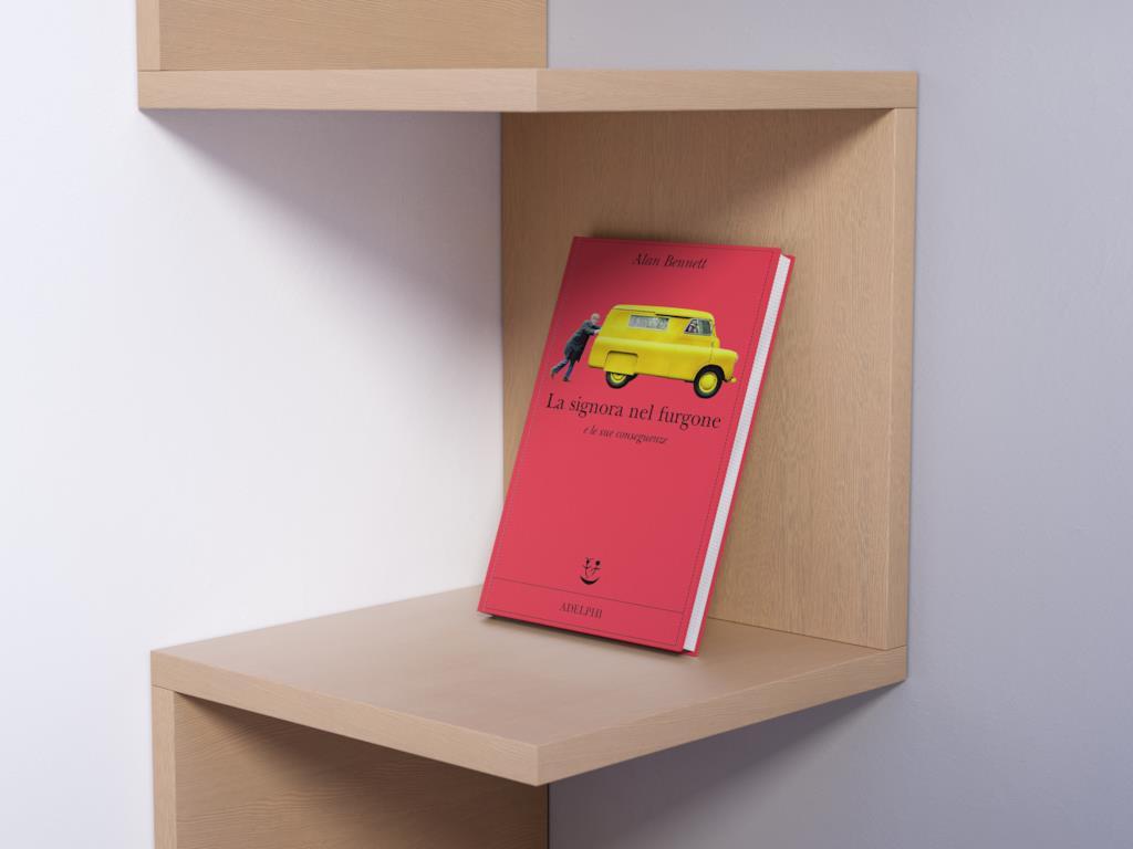 La signora nel furgone di Alan Bennett libro