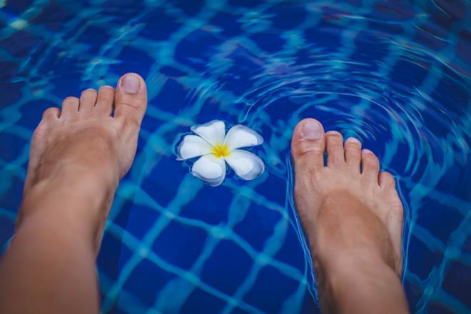 Leuconichia sulle unghie dei piedi