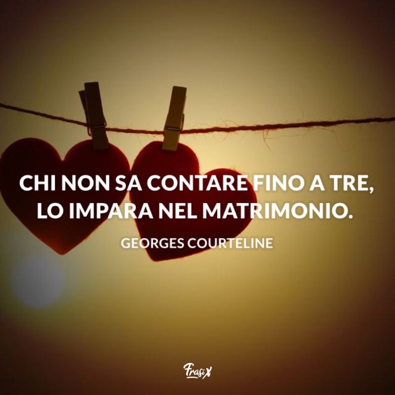 Immagine con citazione georges per frasi divertenti sugli uomini che tradiscono