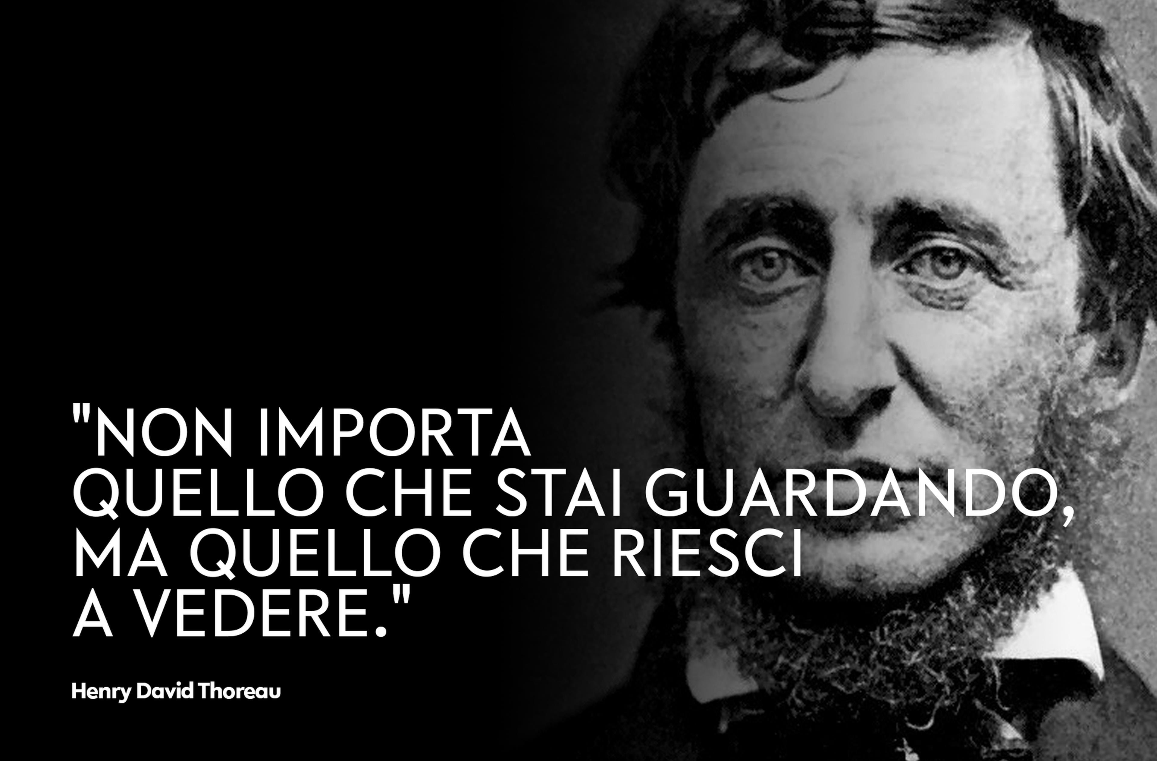 Copertina Henry David Thoreau