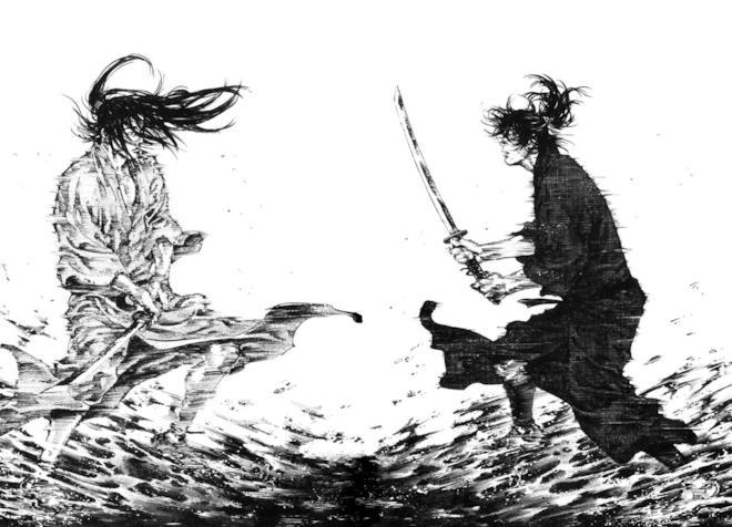Vagabond Musashi e Kojiro