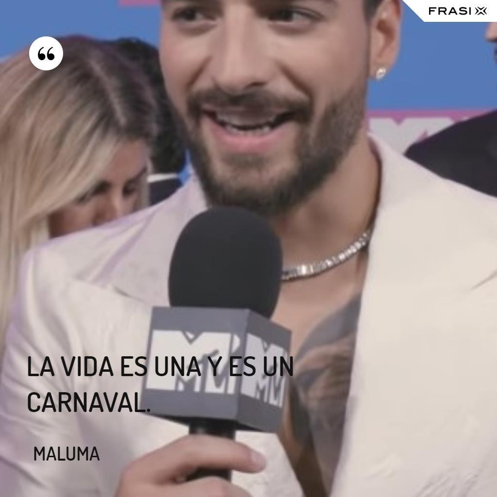 Immagine con frase di Maluma