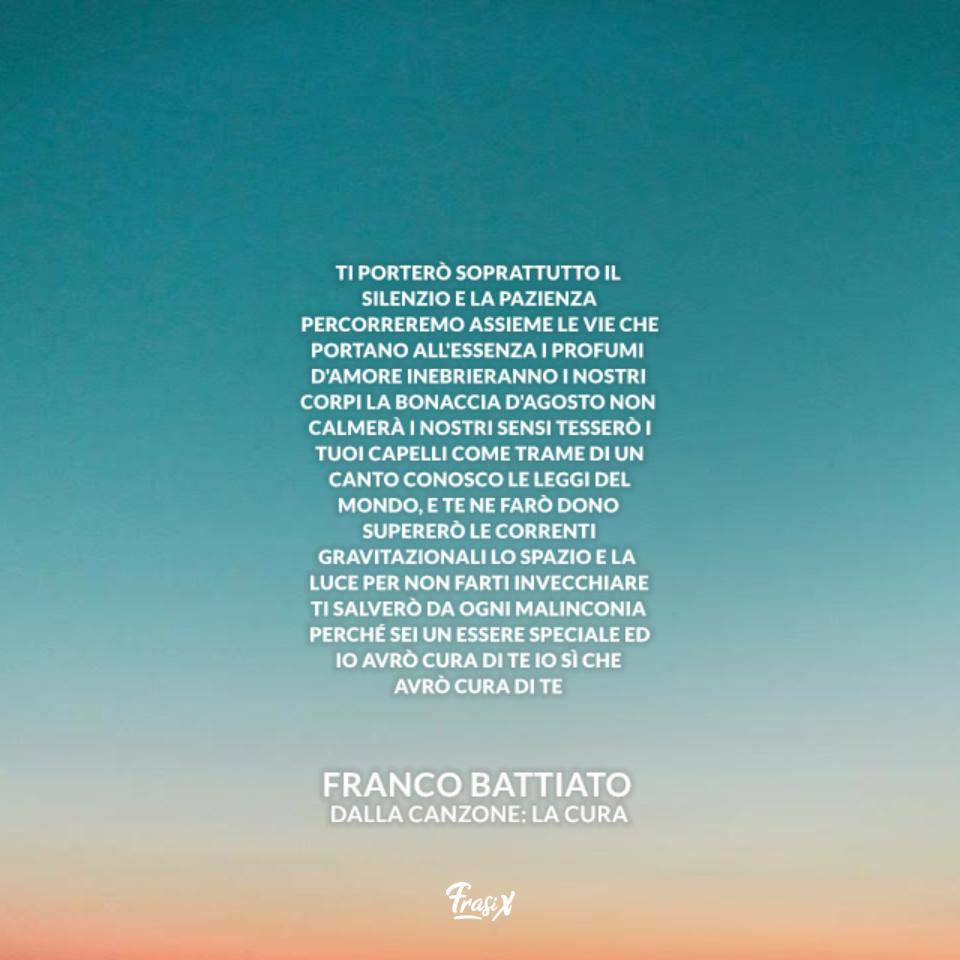 La Cura - Franco Battiato