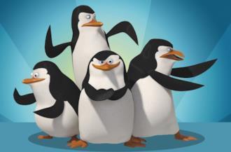 Copertina I pinguini di Madagascar frasi