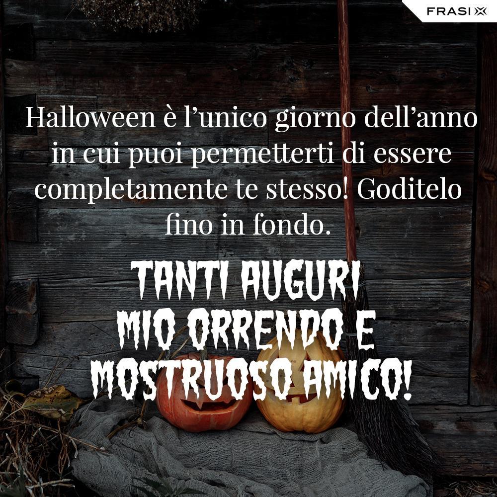 Buon Halloween a tutti frasi auguri
