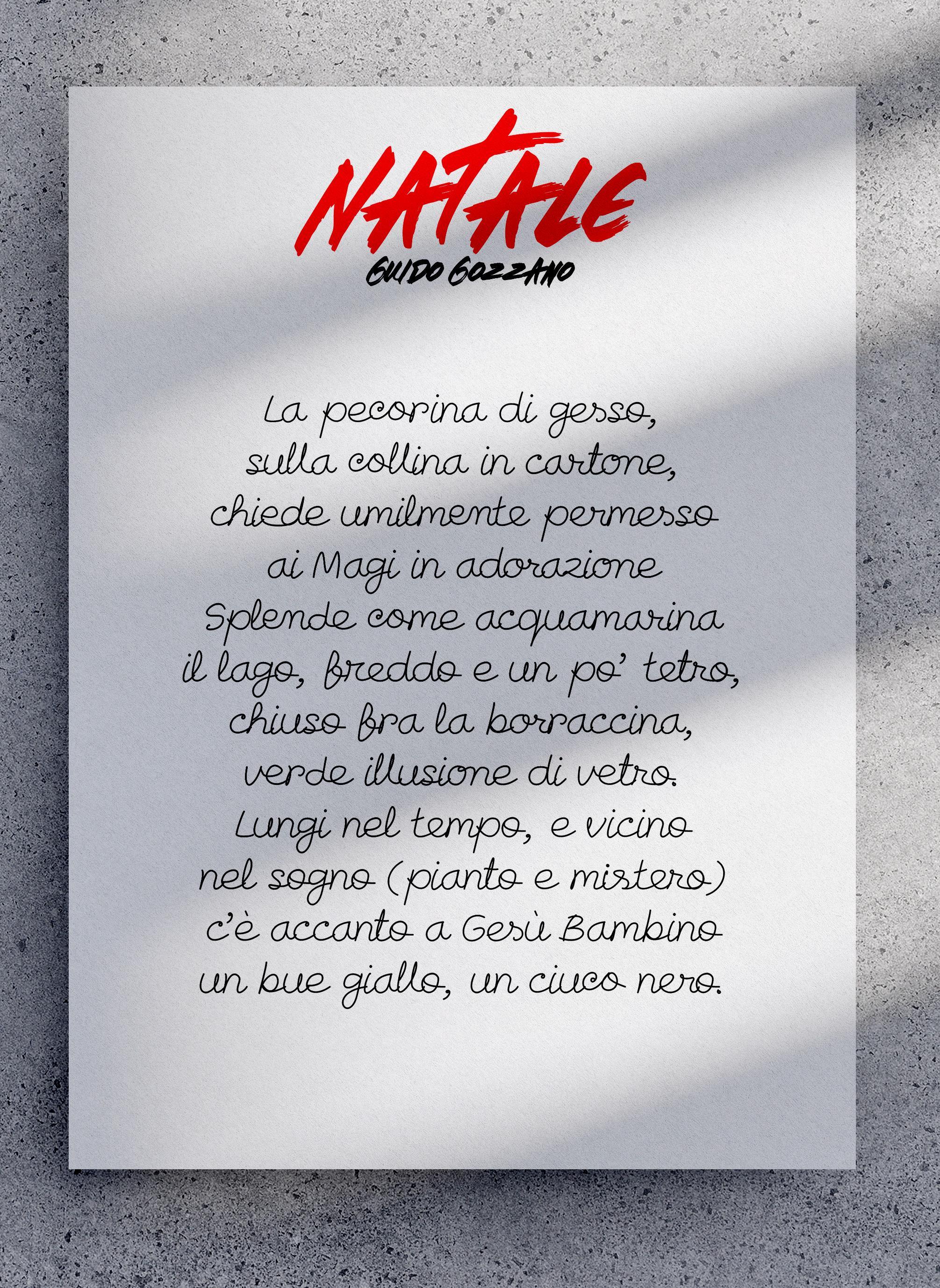 Guido Gozzano la poesia di Natale