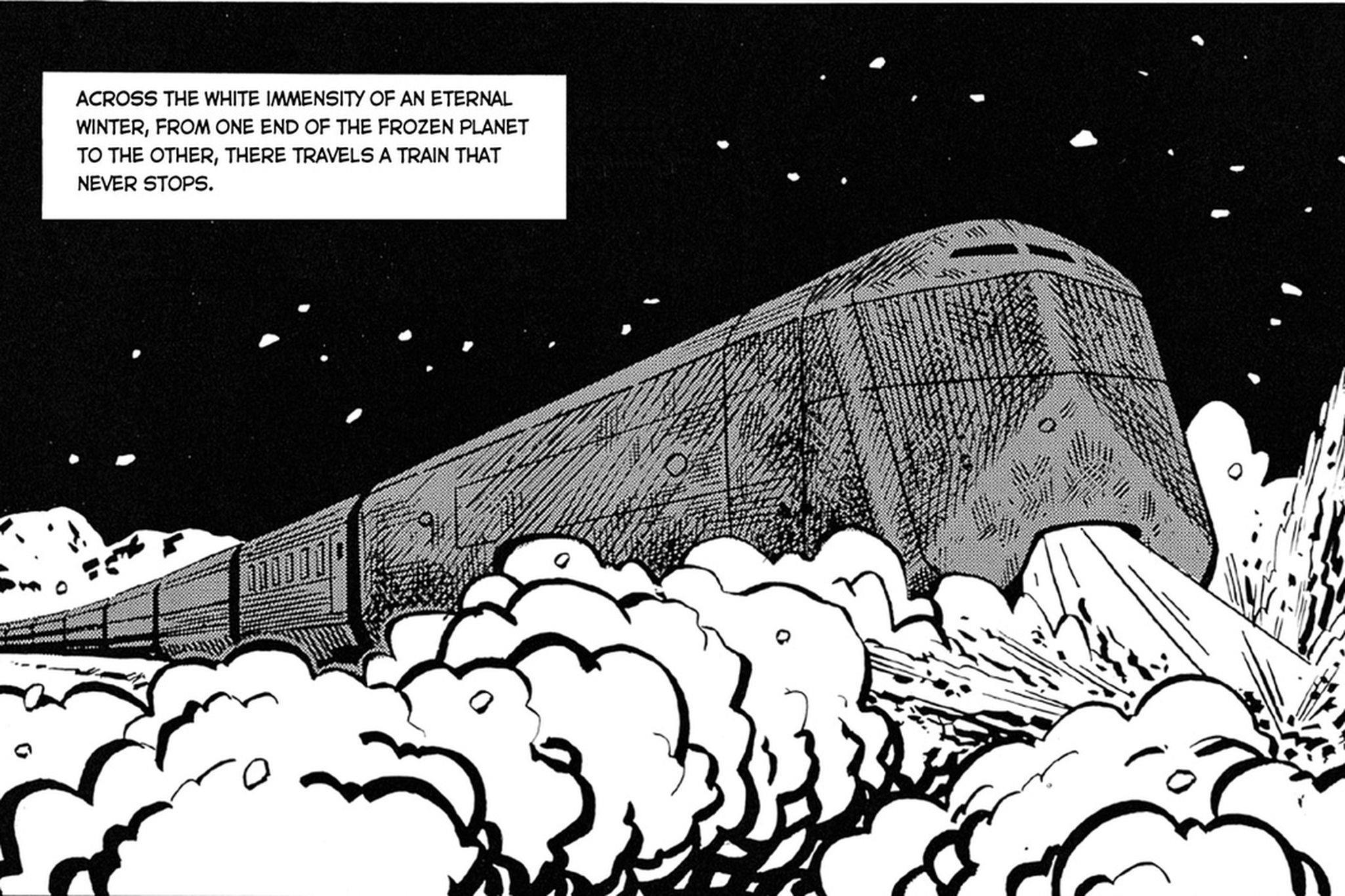 Snowpiercer volume 1 fumetto