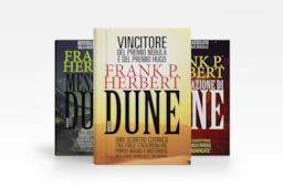 Tre libri dal Ciclo di Dune
