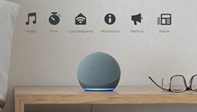 Nuovo Echo Dot (4ª generazione) - Altoparlante intelligente con Alexa