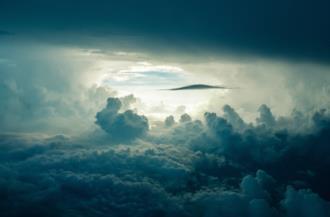 Copertina frasi sulle nuvole