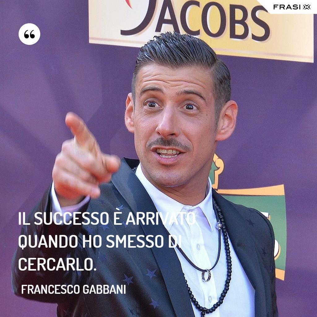 Immagine con frase di Francesco Gabbani