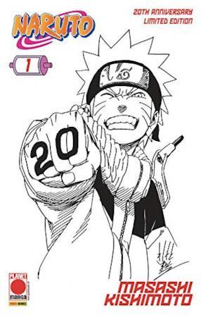 Naruto il Mito N° 1 - 20th Anniversary Limited Edition - Planet Manga - Panini Comics - ITALIANO #MYCOMICS