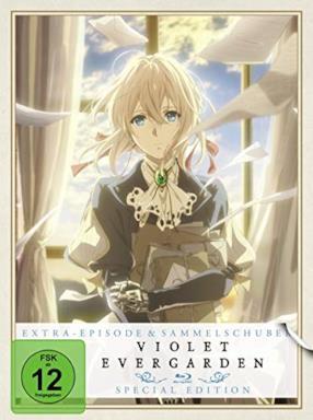 Violet Evergarden - St. 1 - Vol. 1/Extra Episode + Sammelschuber - Limited Special Edition