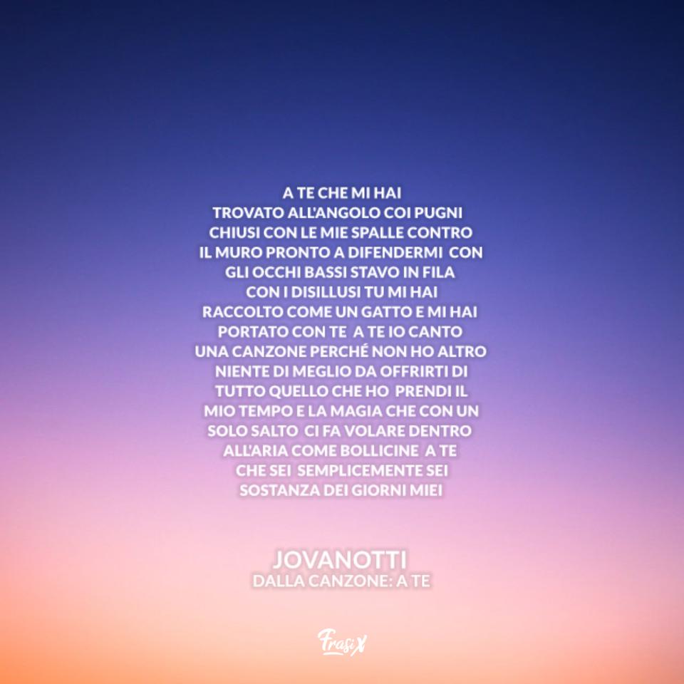 A Te - Jovanotti