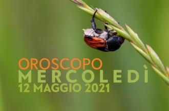 Cover oroscopo Mercoledì 12 Maggio 2021