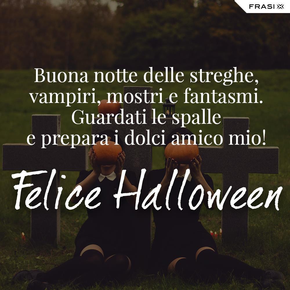 Buon Halloween frasi