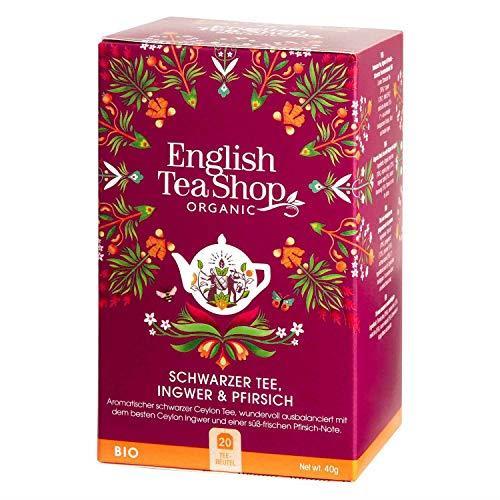 English Tea Shop Ginger Peach Tea