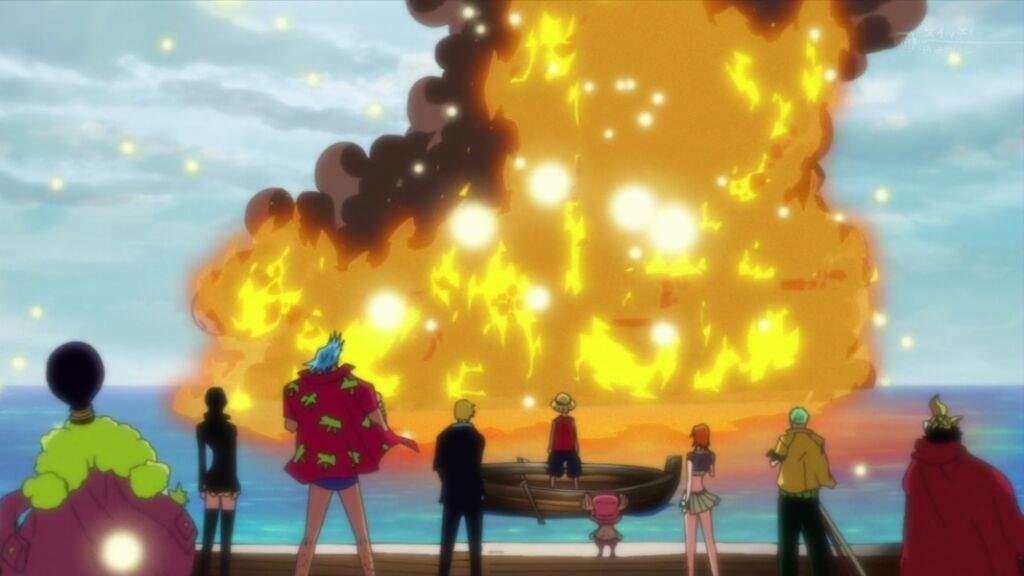One Piece addio alla Going Merry