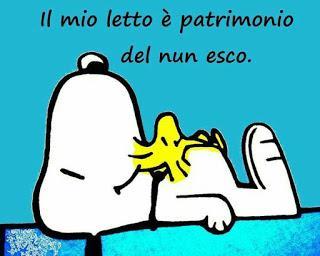 Snoopy augura il buongiorno con citazione divertente