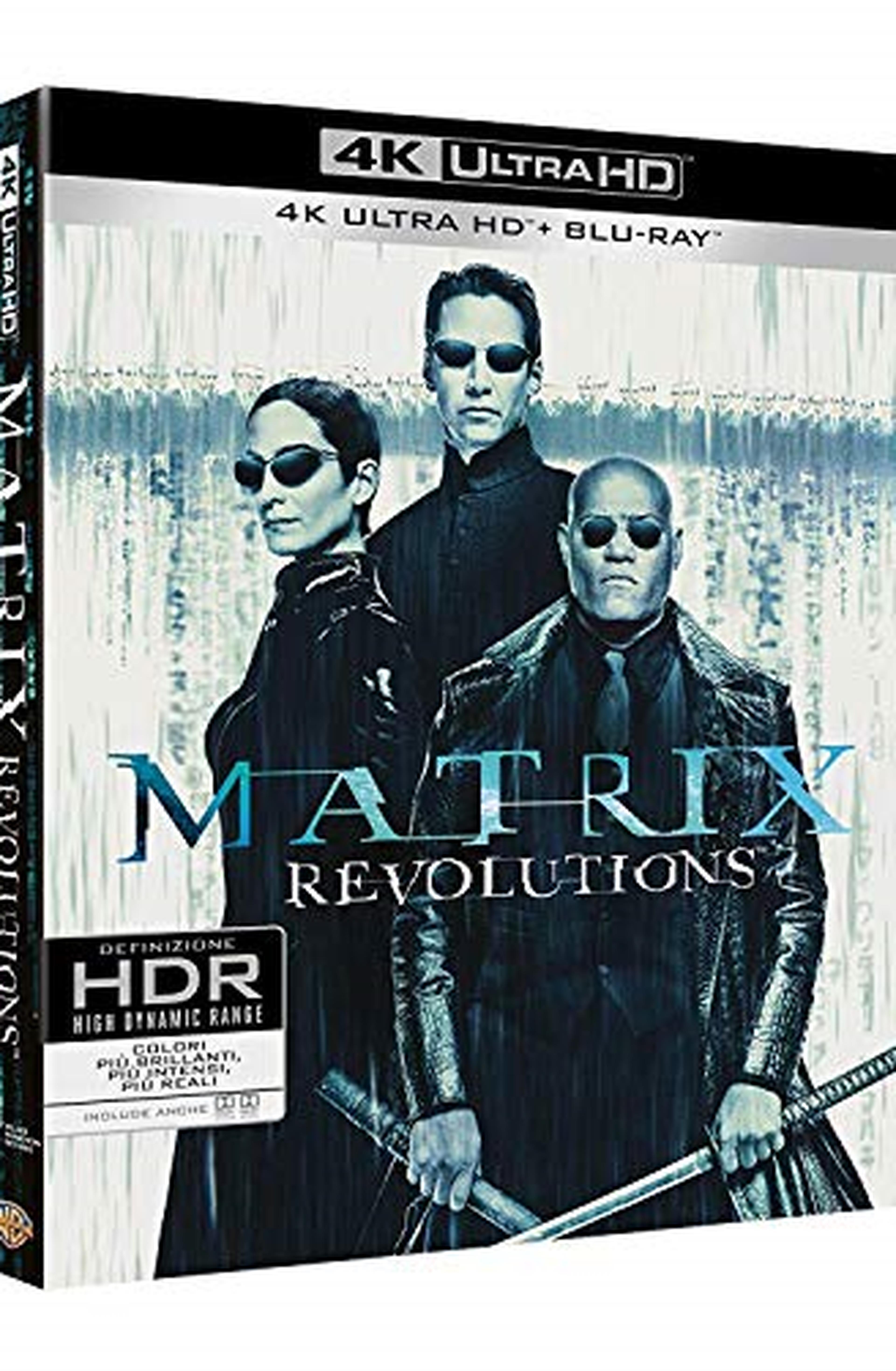 Matrix Revolutions (4K Ultra HD + 2 Blu-Ray)