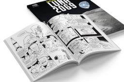 Rat-Man sulla cover di Luna 2069