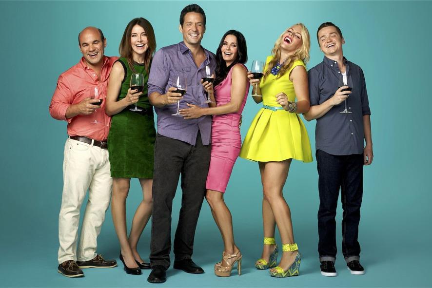 Cast Cougar Town