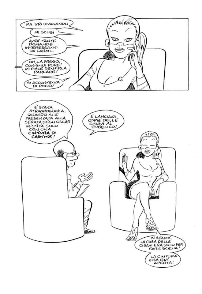 Una pagina tratta da Bedelia di Leo Ortolani