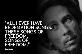 Copertina Frasi Bob Marley
