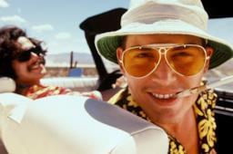 Johnny Depp in primo piano in Paura e delirio a Las Vegas