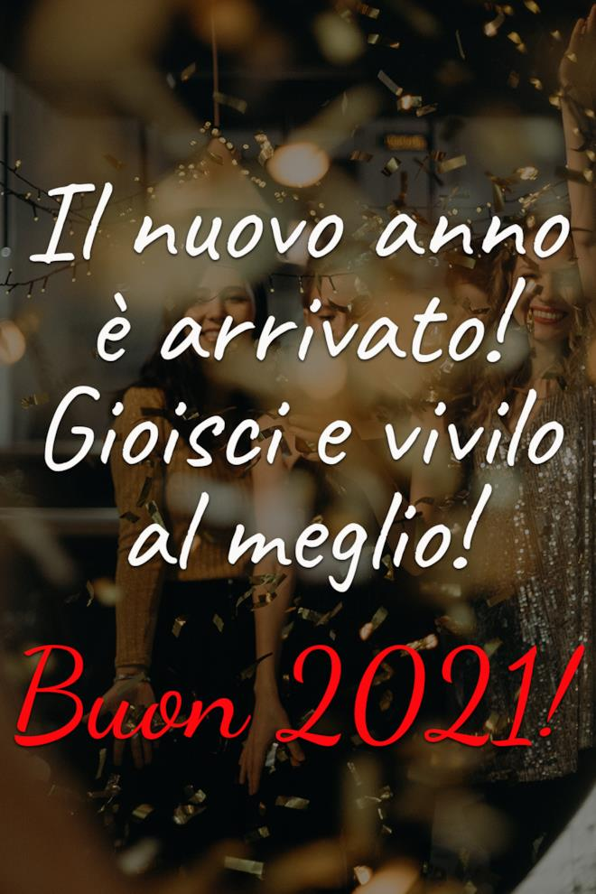 Buon anno 2021 frasi gratis